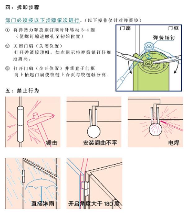 日东旗型铰链