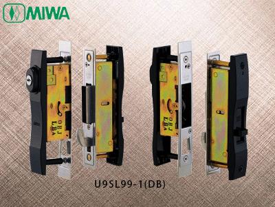 日本进口MIWA(美和)双轨推拉门防盗锁U9SL99-1