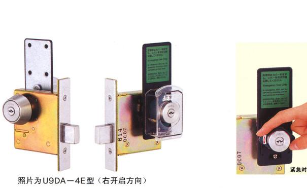 日本MIWA带紧急开启装置的单闩锁