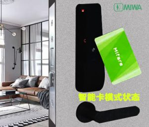 MIWA新型感应密码锁