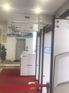 门体红外人体测温仪