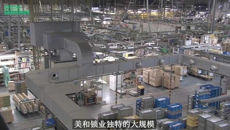 日本MIWA美和锁业(工厂)